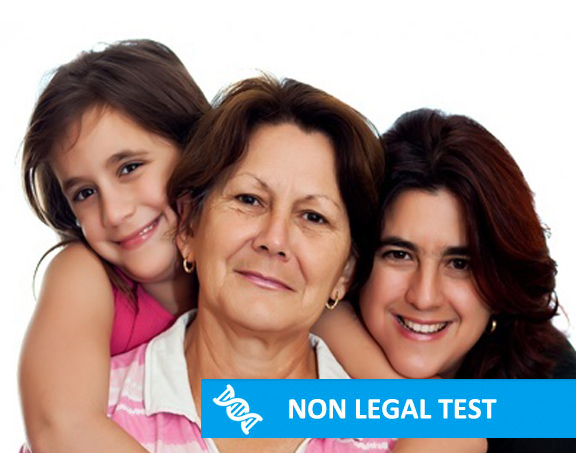 Non Legal DNA Test for Grandparent